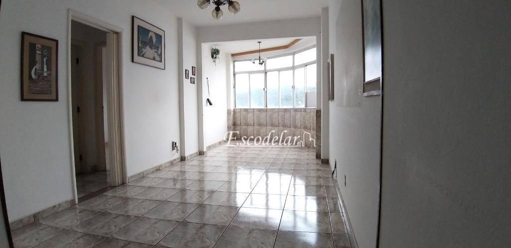 Apartamento com 2 dormitórios à venda, 90 m² por R$ 250.000 - Centro - São Vicente/SP