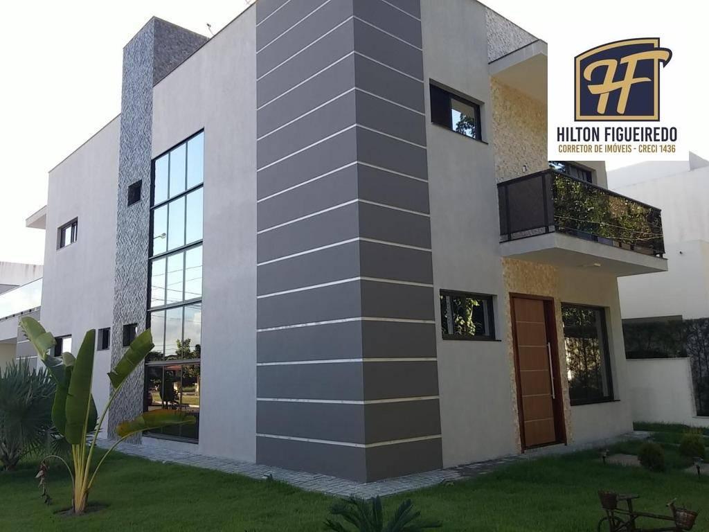 Casa à venda, 340 m² por R$ 1.200.000,00 - Intermares - Cabedelo/PB