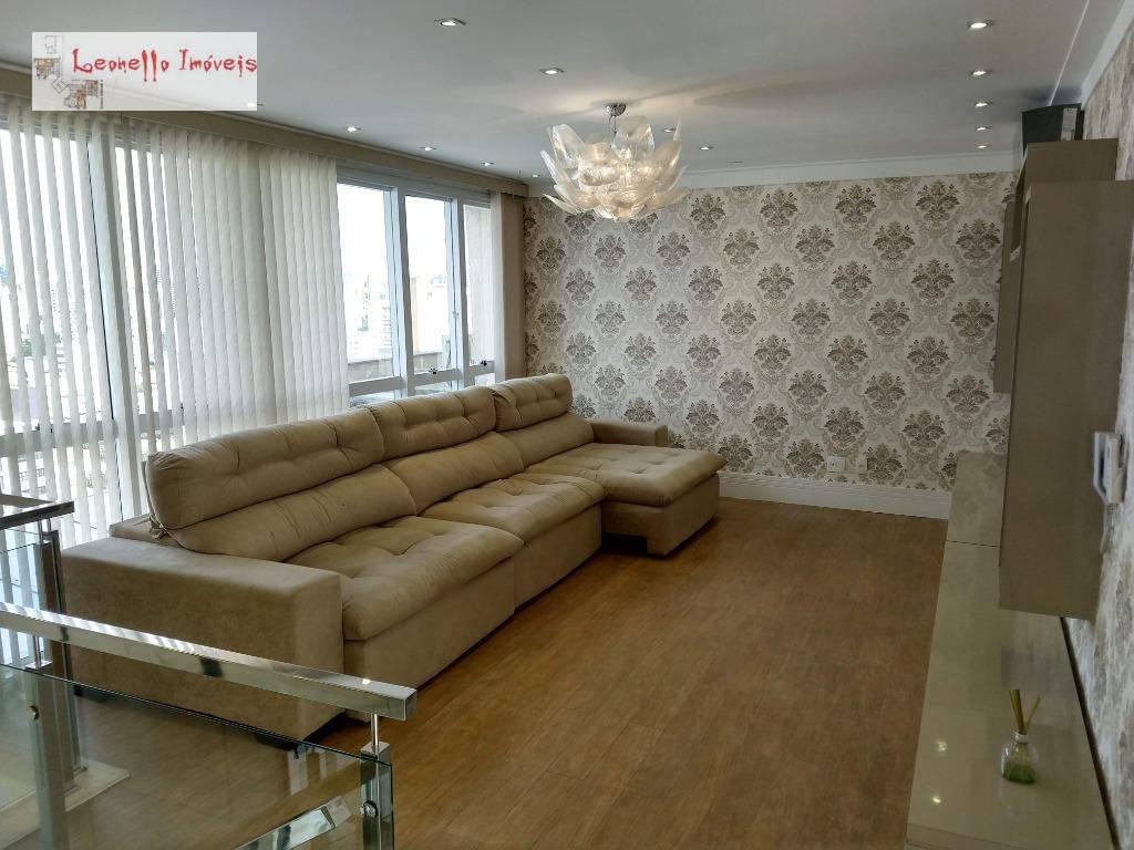 Cobertura para alugar, 227 m² por R$ 7.000,00/mês - Centro - Santo André/SP