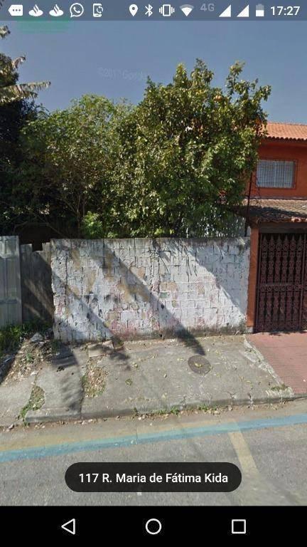 Terreno residencial à venda, Vila Nossa Senhora de Fátima, G