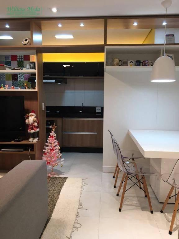Apartamento à venda, 54 m² por R$ 350.000,00 - Parque Cecap - Guarulhos/SP