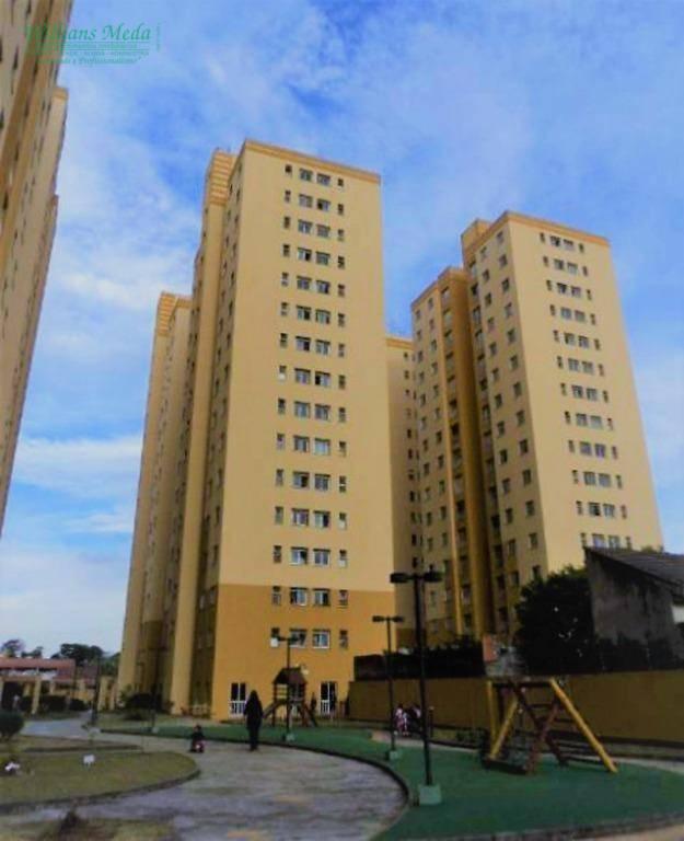 Apartamento com 2 dormitórios para alugar, 52 m² por R$ 1.400/mês - Vila Milton - Guarulhos/SP