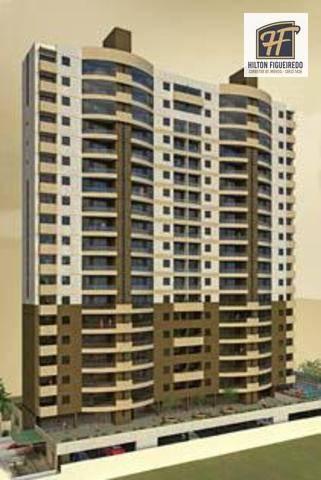 Apartamento com 3 dormitórios à venda, 108 m² por R$ 455.000 - Bessa - João Pessoa/PB