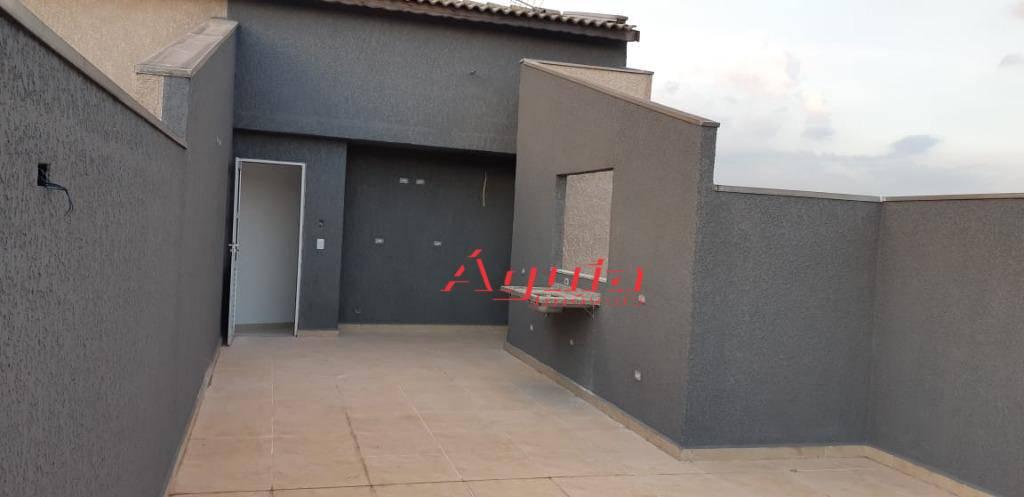 Cobertura com 2 dormitórios à venda, 50 m² por R$ 275.000,00 - Jardim das Maravilhas - Santo André/SP