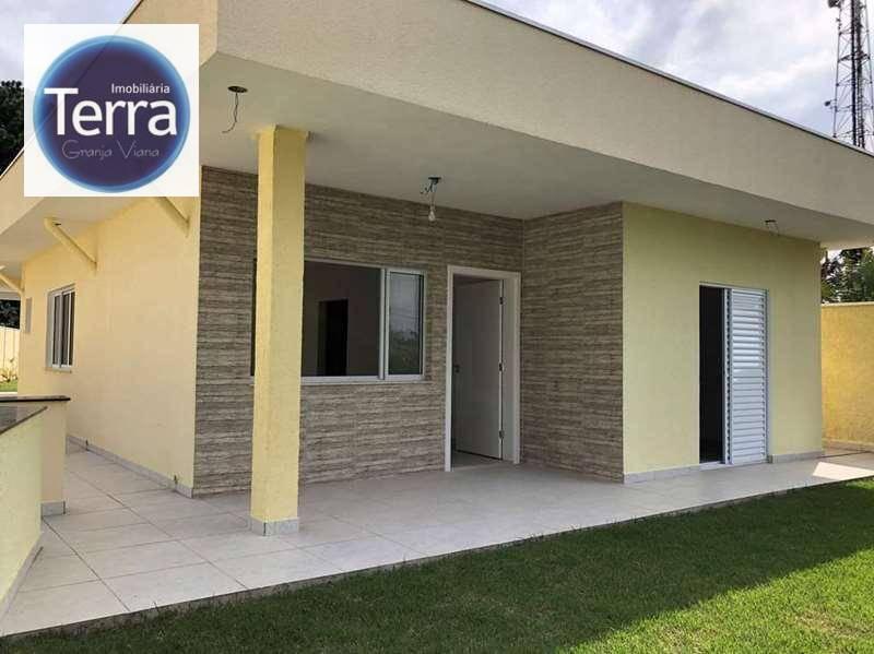 Casa com 3 dormitórios à venda, 164 m² por R$ 890.000 - Chácara Vale do Rio Cotia - Granja Viana