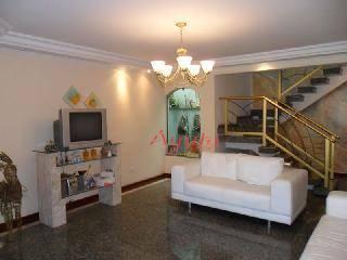Sobrado Residencial à venda, Jardim Monte Líbano, Santo André - SO0059.