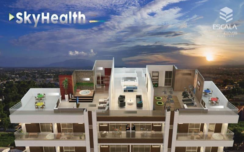 Apartamento com 3 quartos à venda, 95 m², área de lazer, 2 vagas, financia - cidade dos Funcionários - Fortaleza/CE