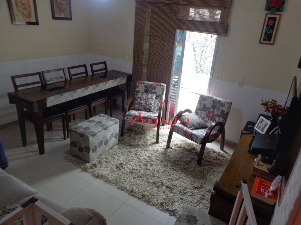 Sobrado com 2 dormitórios à venda, 92 m² por R$ 360.000 - Parque Novo Oratório - Santo André/SP