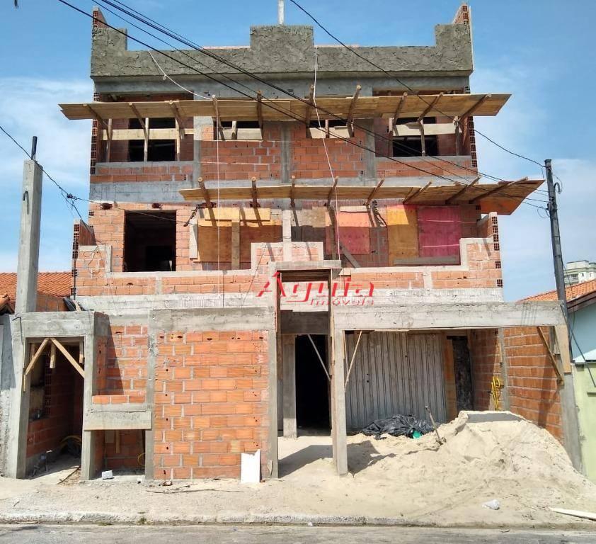 Cobertura com 2 dormitórios à venda, 50 m² por R$ 370.000 - Jardim Paraíso - Santo André/SP