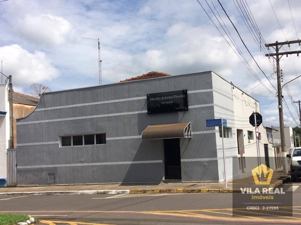 Casa com 2 dormitórios à venda, 198 m² por R$ 1.200.000 - Centro - Artur Nogueira/SP