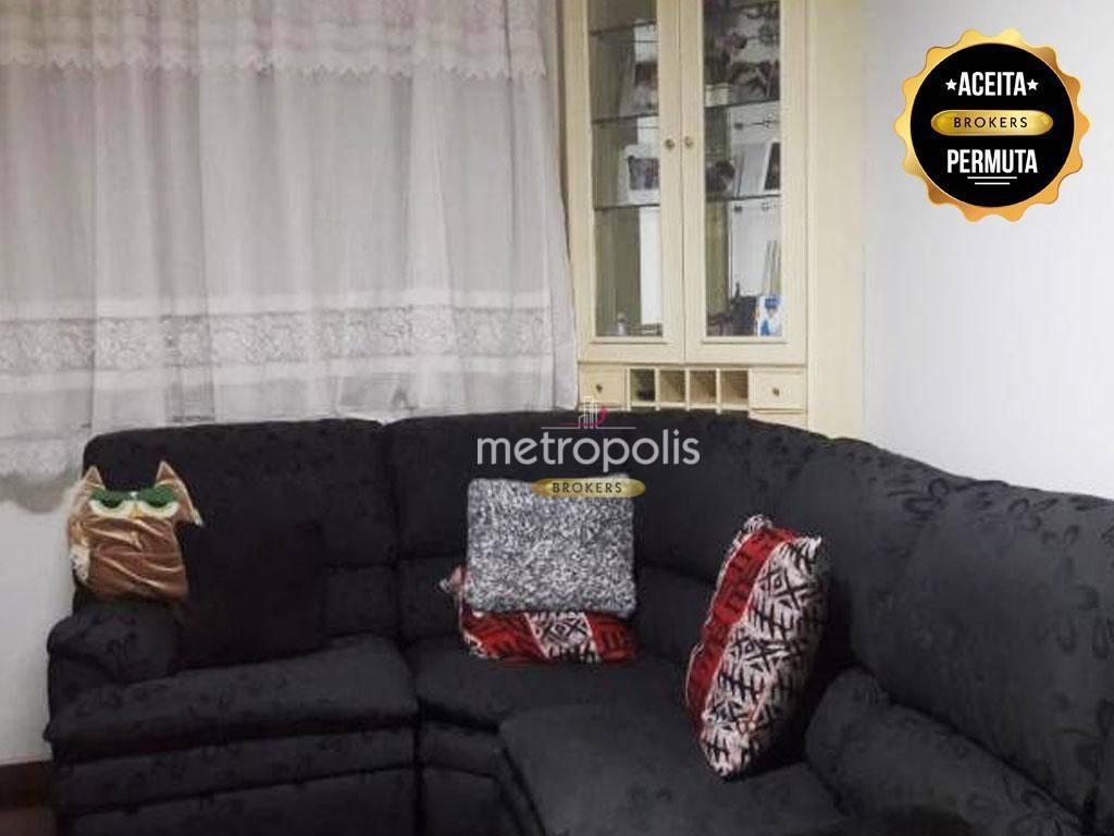 Apartamento com 2 dormitórios à venda, 62 m² por R$ 430.000 - Santa Paula - São Caetano do Sul/SP