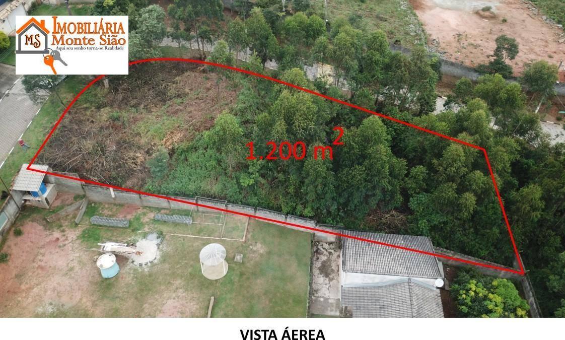 Terreno à venda, 1200 m² por R$ 240.000,00 - São Vicente - Mairiporã/SP