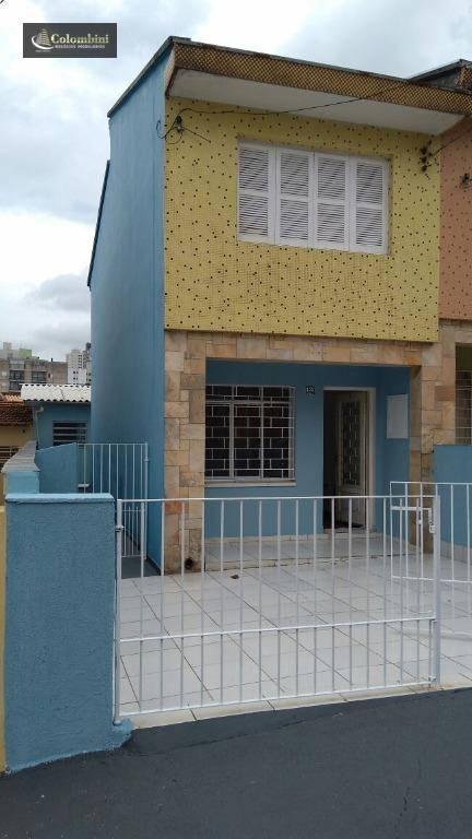 Sobrado residencial para locação, Cerâmica, São Caetano do Sul - SO0079.