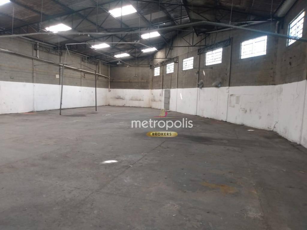 Galpão para alugar, 810 m² por R$ 10.000,00/mês - Conceição - Diadema/SP