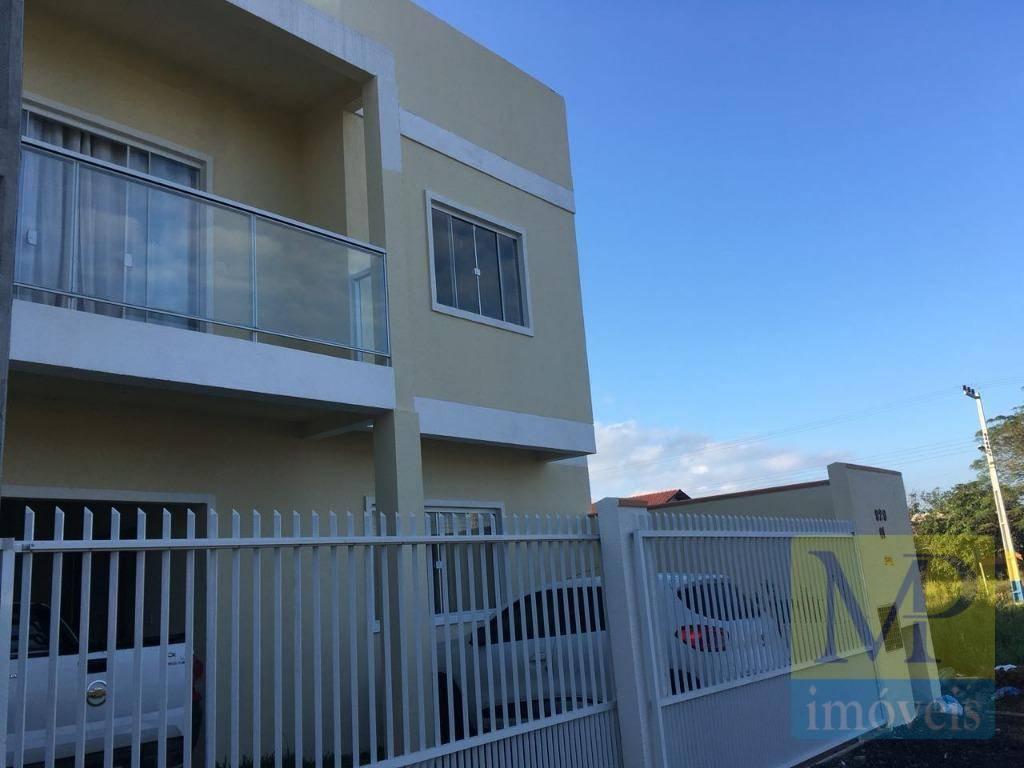 Sobrado com 3 dormitórios à venda, 122 m² por R$ 298.000 - Gravatá - Navegantes/SC