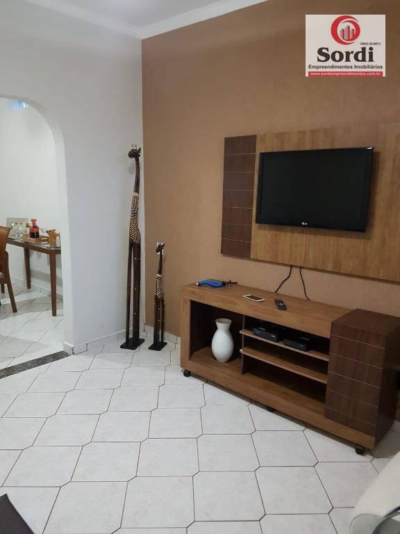 Casa com 3 dormitórios à venda, 160 m² por R$ 250.000 - Campos Elíseos - Ribeirão Preto/SP
