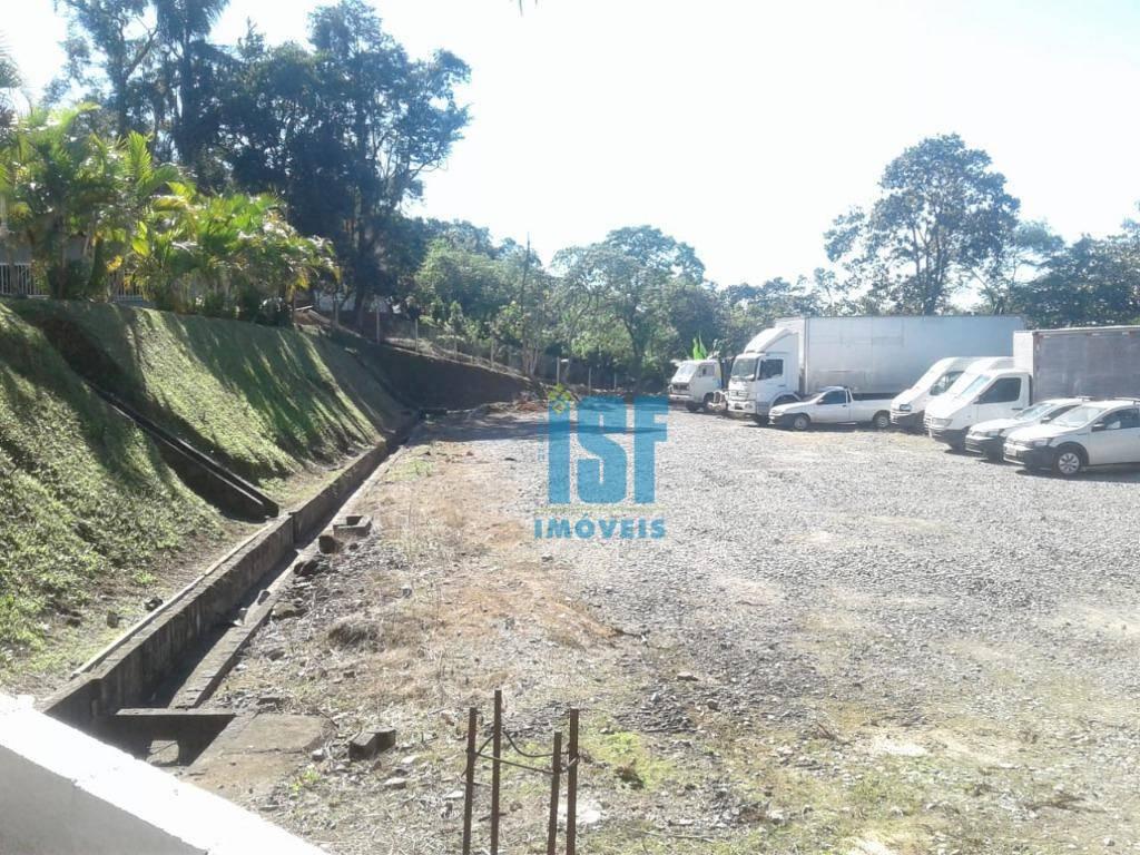 Terreno para alugar, 1500 m² por R$ 3.800,00/mês - Jardim Mimas - Embu das Artes/SP