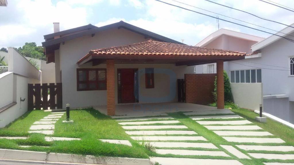 Casa residencial para locação, Jardim Paiquerê, Valinhos.