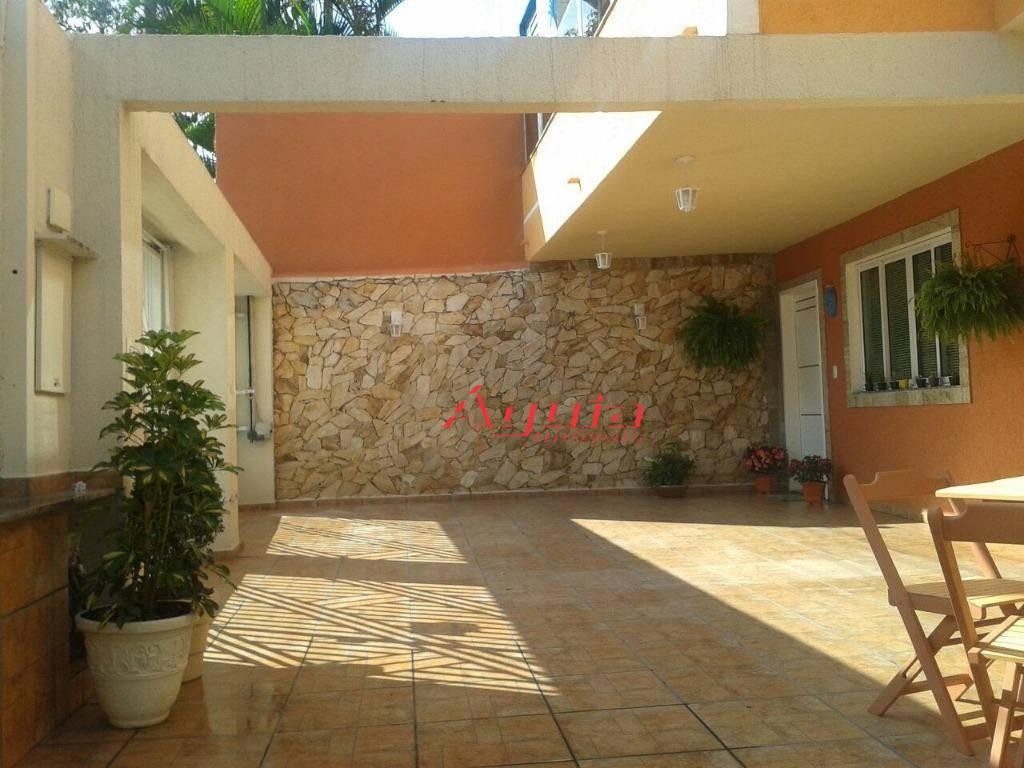 Sobrado com 3 dormitórios à venda, 180 m² por R$ 540.000 - Vila Helena - Santo André/SP