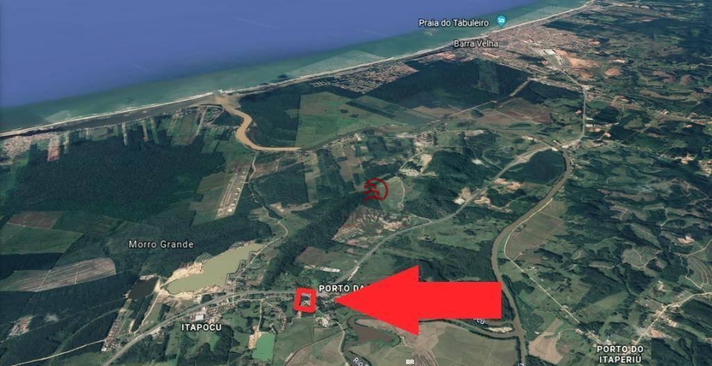Área à venda, 9000 m² por R$ 954.000 - Porto da Vila - Araquari/Santa Catarina