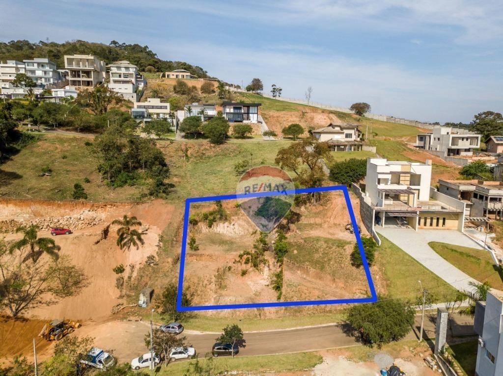 Terreno à venda, 836 m² por R$ 302.262,62 - Condominio Porto Atibaia - Atibaia/SP