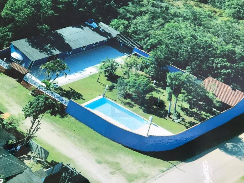 Chácara residencial à venda, Fluvila, Itanhaém.