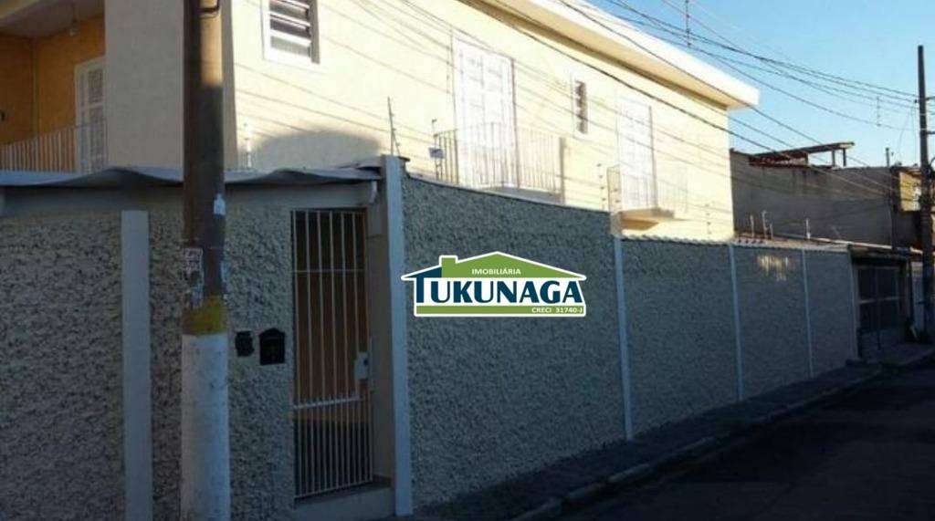 Sobrado residencial à venda, Vila Galvão, Guarulhos.
