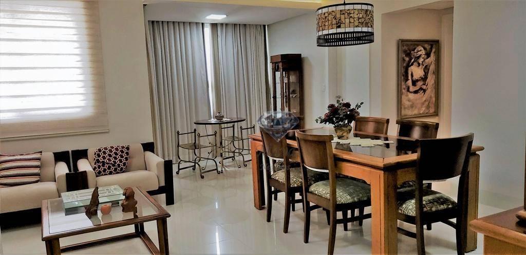 Apartamento 3 Suítes, 150 m² c/ armários na 110 Sul - Residencial California