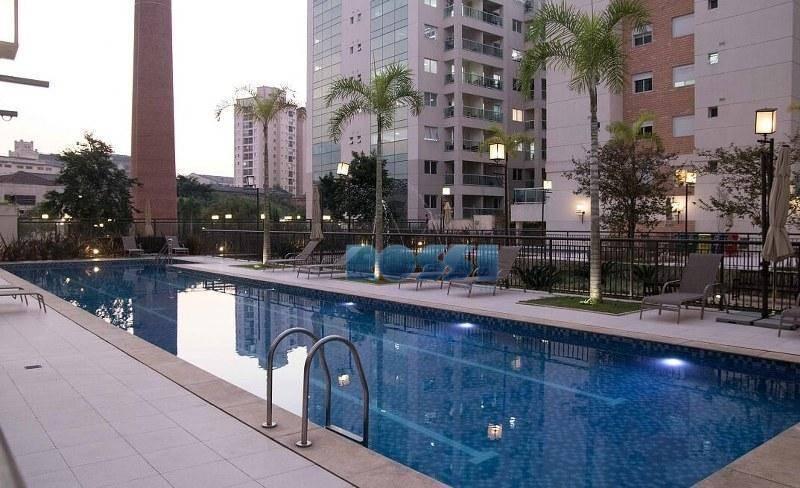 Apartamento Mobiliado com 3 suites para locação, Mooca, São Paulo.