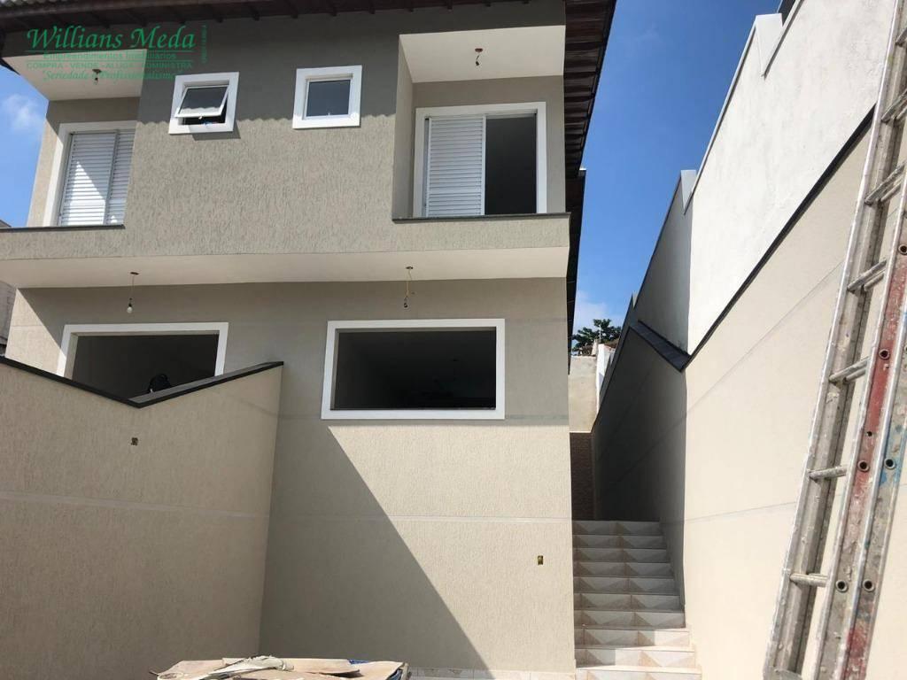 Sobrado com 3 suítes à venda, 134 m² por R$ 580.000 - Jardim Vila Galvão - Guarulhos/SP