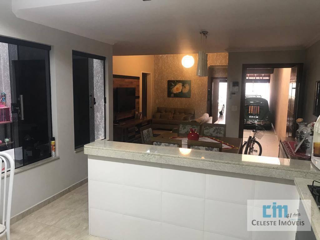 Casa com 3 dormitórios à venda, 311 m² por R$ 580.000 - De Lorenzi - Boituva/SP