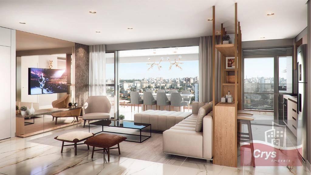 Apartamento com 3 dormitórios à venda, 107 m² por R$ 1.210.000 - Vila Anglo Brasileira - São Paulo/SP