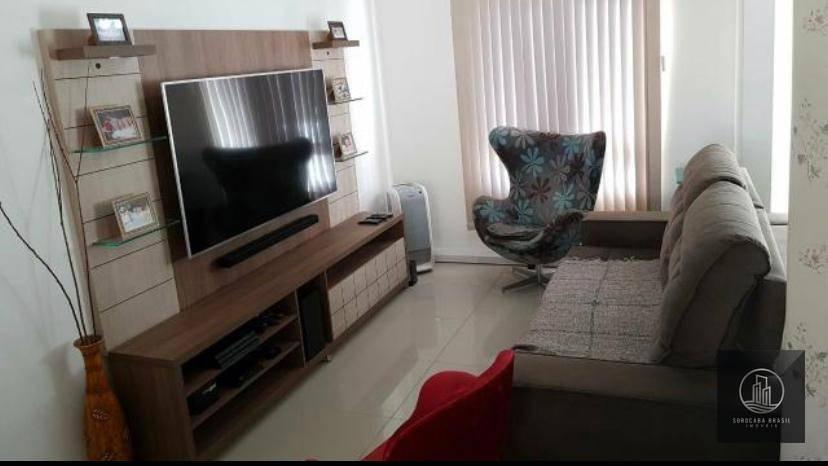 Sobrado com 3 dormitórios à venda, 240 m² por R$ 480.000,00 - Condomínio Villa Flora - Votorantim/SP