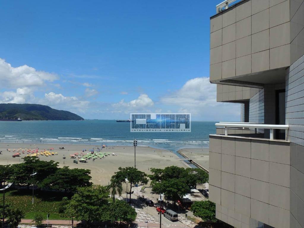 Excelente FLAT mobiliado à Beira Mar em Santos