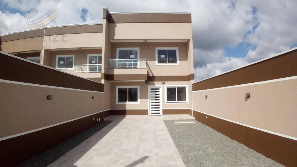 Sobrado residencial à venda, Costeira, São José dos Pinhais.