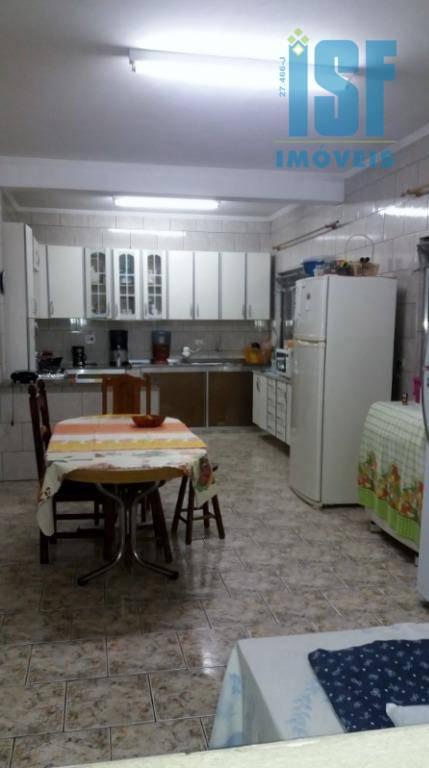 Sobrado residencial à venda, Parque Santa Teresa, Carapicuíba - SO4162.