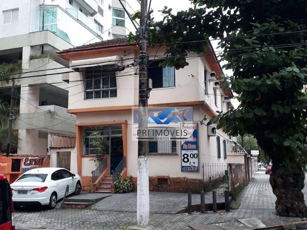 Casa com 3 dormitórios à venda, 140 m² por R$ 530.000 - Itararé - São Vicente/SP