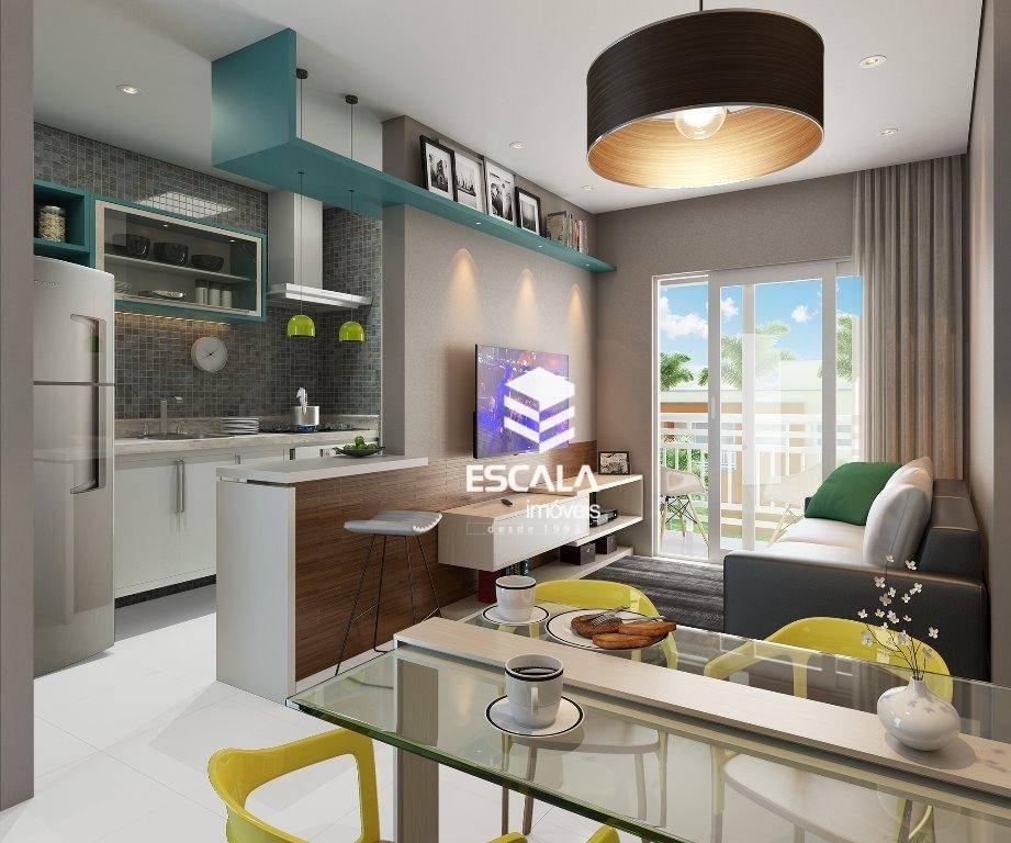 Apartamento com 3 quartos à venda, 62 m², suíte, 2 vagas, área de lazer, financia - Paumirim - Caucaia/CE