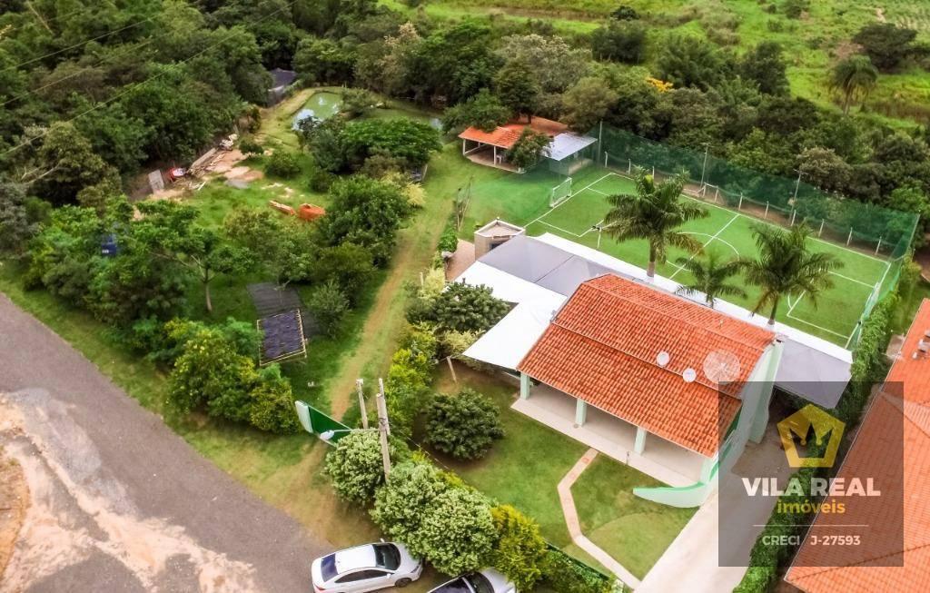 Chácara à venda em condomínio fechado, 7000 m² por R$ 950.000 - Artur Nogueira/SP