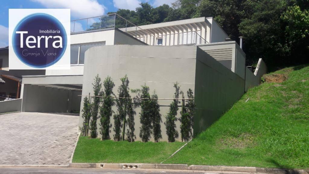 Casa com 4 dormitórios à venda, 360 m² por R$ 1.650.000 - Pousada dos Bandeirantes - Granja Viana