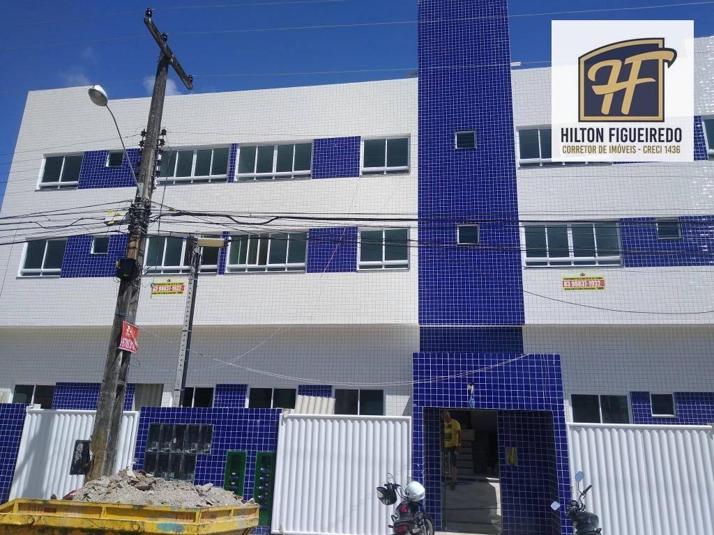 Apartamento com 2 dormitórios s/01 suite à venda, 48 m² por R$ 190.000 - Manaíra - João Pessoa/PB