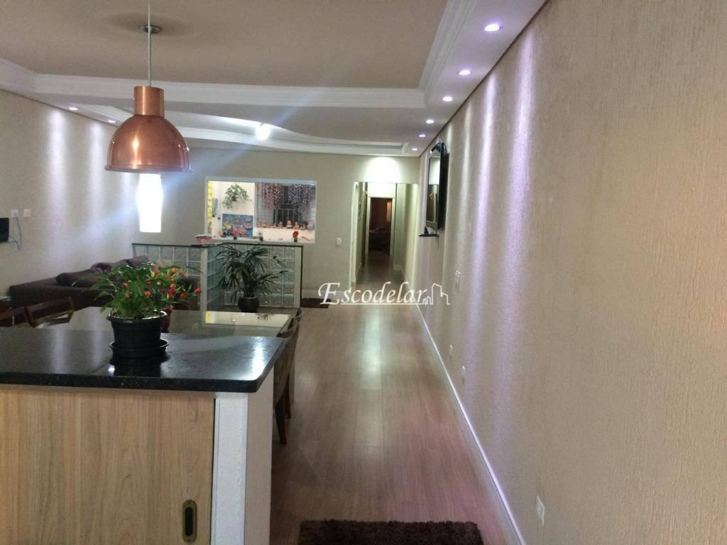 Sobrado com 3 dormitórios à venda, 340 m² por R$ 1.500.000,00 - Santa Paula - São Caetano do Sul/SP