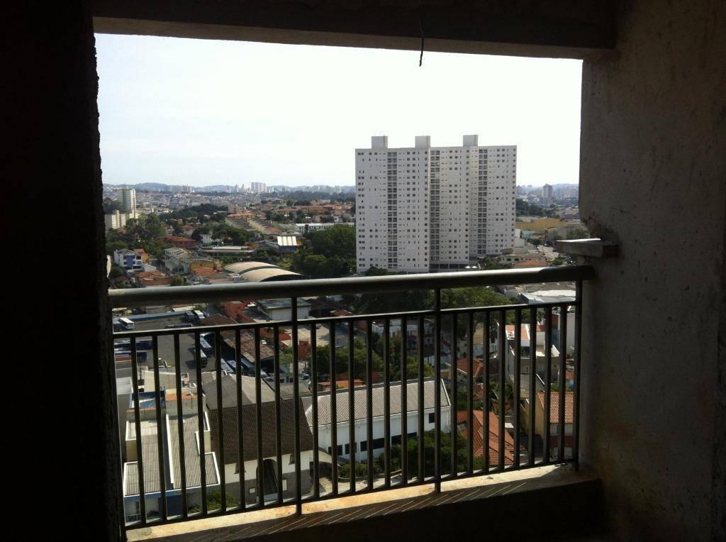 Apartamento residencial à venda, 77,86 m², 3 dorm, 1 suíte e 4 vagas!!! Vila Alzira, Santo André.