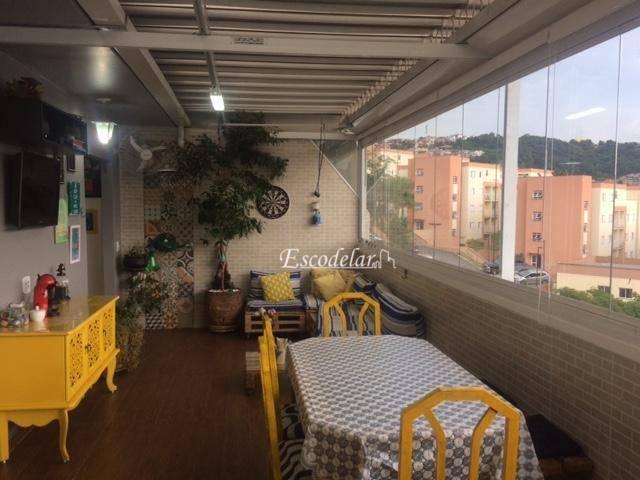 Apartamento residencial à venda, Jardim Central, Cotia.