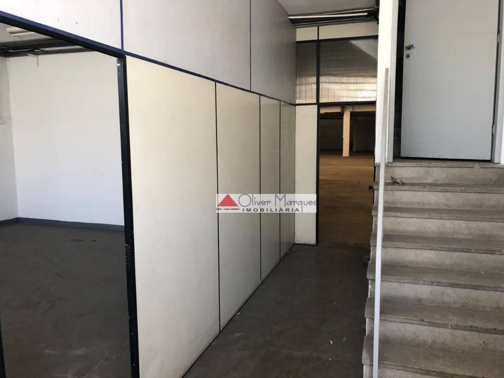 Galpão para alugar, 1140 m² por R$ 15.000/mês  Rua Três Andradas, 204 - Jardim Piratininga - Osasco/SP