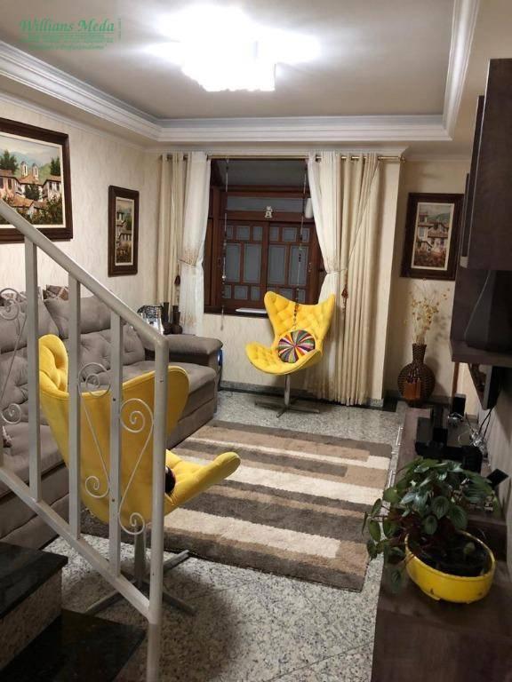 Sobrado com 3 dormitórios à venda, 166 m² por R$ 890.000 - Jardim Gopoúva - Guarulhos/SP