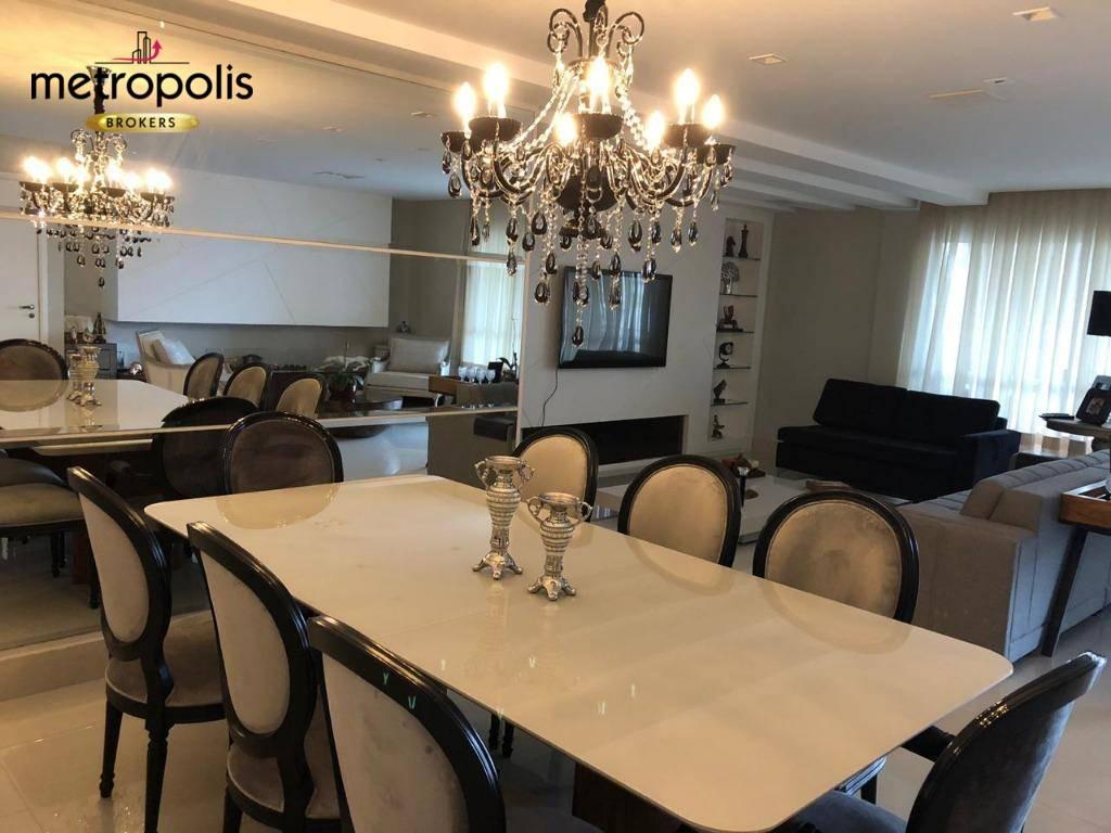 Apartamento com 3 dormitórios à venda, 186 m² por R$ 1.250.000 - Jardim São Caetano - São Caetano do Sul/SP