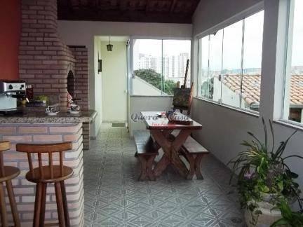 Sobrado com 2 dormitórios à venda, 120 m² por R$ 600.000 - J