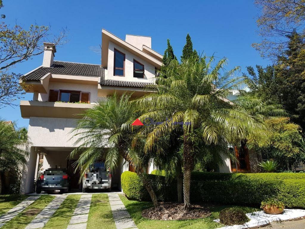 Sobrado com 4 dormitórios à venda, 400 m² por R$ 2.000.000,00 - Morada dos Pinheiros (Aldeia da Serra) - Santana de Parnaíba/SP