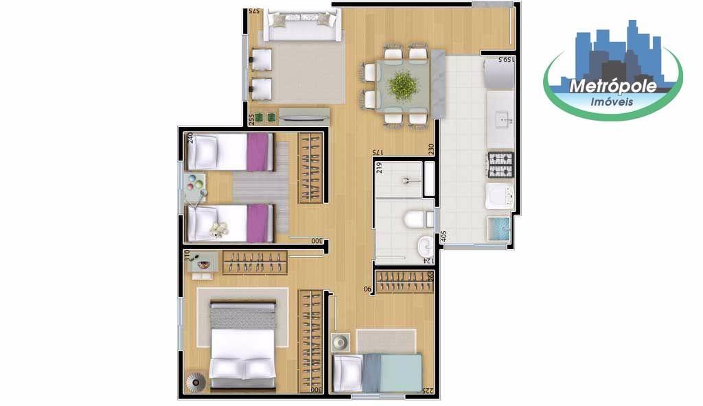 Apartamento de 2 dormitórios à venda em Jardim Munhoz, Guarulhos - SP
